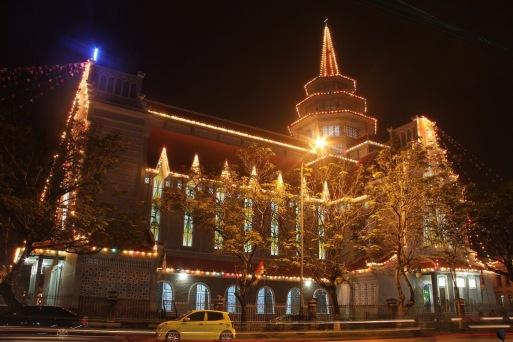 Noel 2013 - Dòng Chúa Cứu Thế, Hue - Church of Saviour, Hue - Photo: vandungsilk