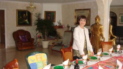 Preparation de la table - Photo: Minh Nguyet