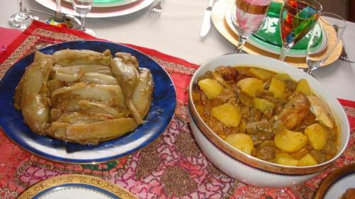 Poulet au curry et endives braisees - Photo: Minh Nguyet