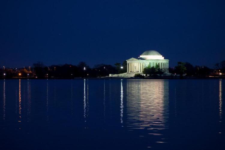 Jefferson Memorial, Wash. DC - Photo: Hoàng Trọng