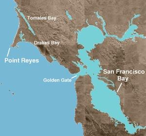 pt reyes map