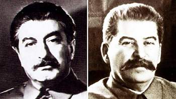 Stalin Double und Stalin